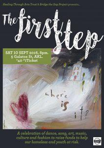 Poster image, painting by Ingrid Berzins. Poster design by Viv Skinner